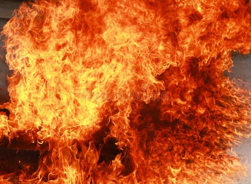 Fond Brûlant De Texture De Flamme Du Feu De Flamme Photo stock - Image: 63035161