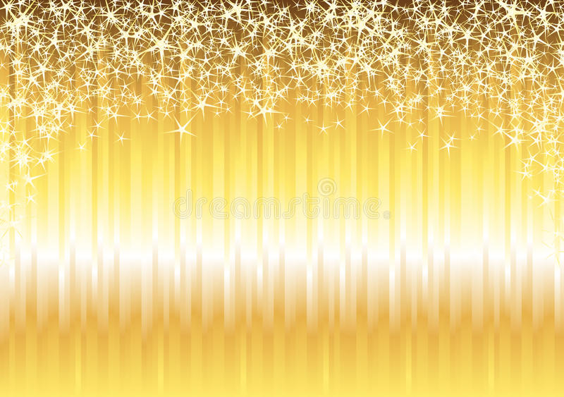 Fond brillant d'or illustration libre de droits