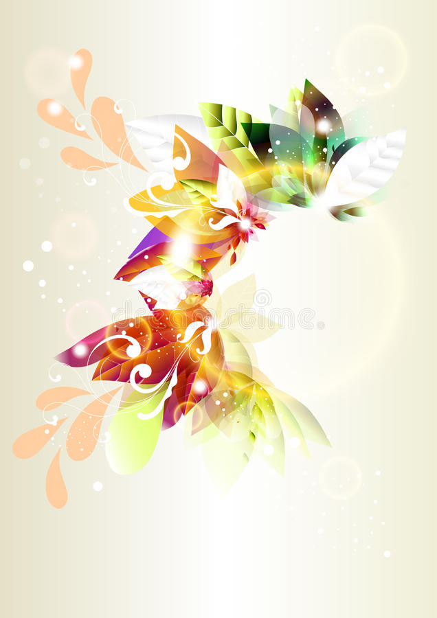 Fond brillant ou trame de vecteur abstrait coloré illustration stock