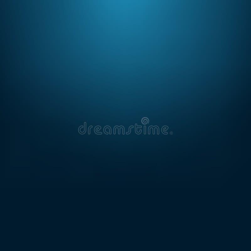 Fond brouillé abstrait de maille de gradient dans des couleurs bleu-foncé S illustration libre de droits