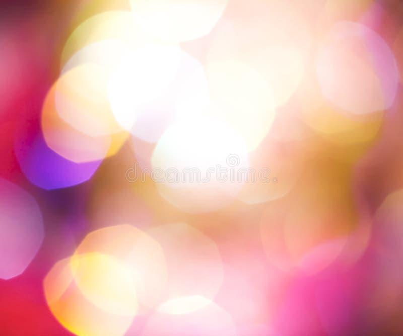 Fond brouillé de lumières image libre de droits