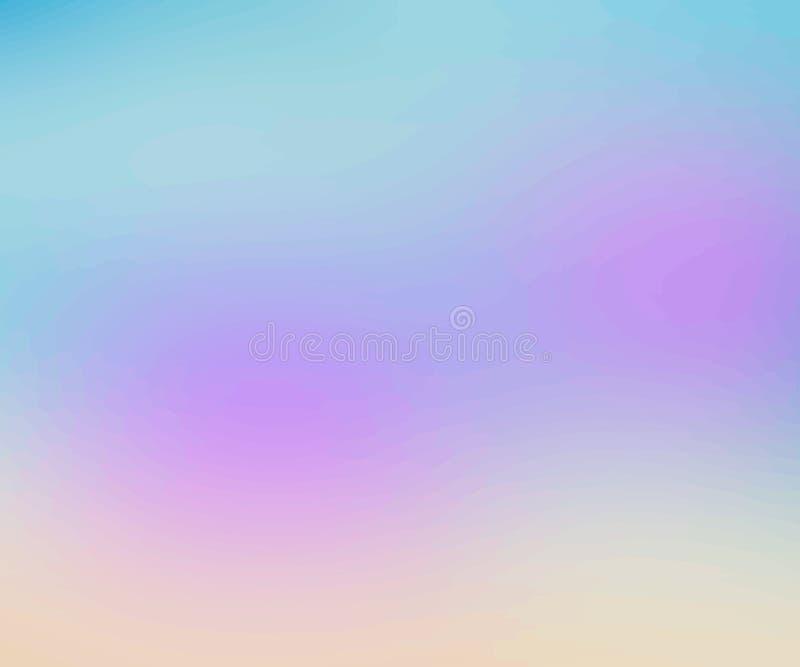 Fond brouillé multicolore abstrait vecteur créatif de concept Calibre pour l'affiche, l'insecte et la présentation, la bannière,  illustration libre de droits