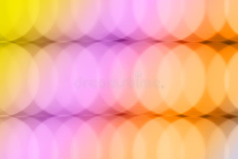 Fond brouillé par bokeh coloré abstrait photos libres de droits