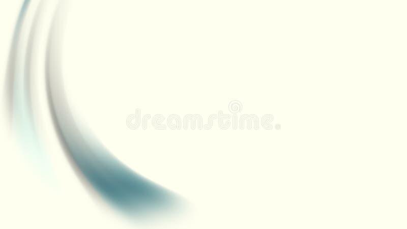 Fond brouillé par mouvement bleu vert clair d'écoulement de gradient de résumé Fond, conception et papier peint abstraits luxueux illustration stock