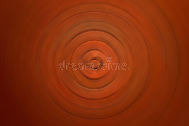 Fond brouillé par radial de mouvement d'abrégé sur brique rouge image stock