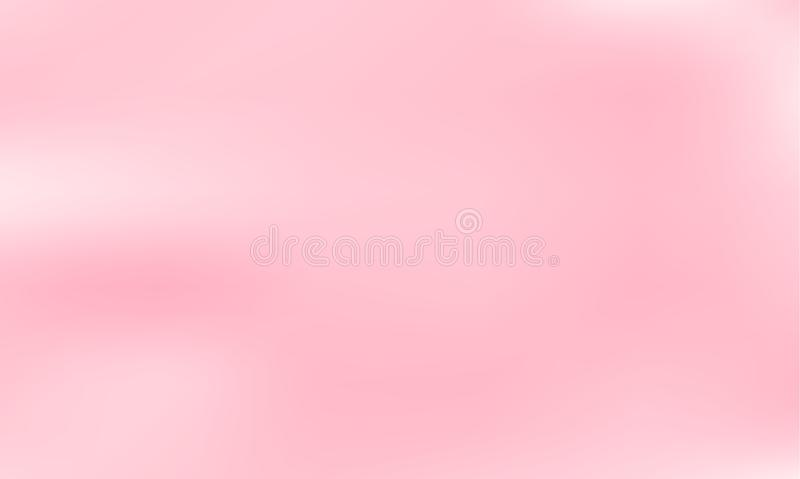 Fond brouillé par rose Couleur douce de texture de gradient Illustration de vecteur illustration de vecteur
