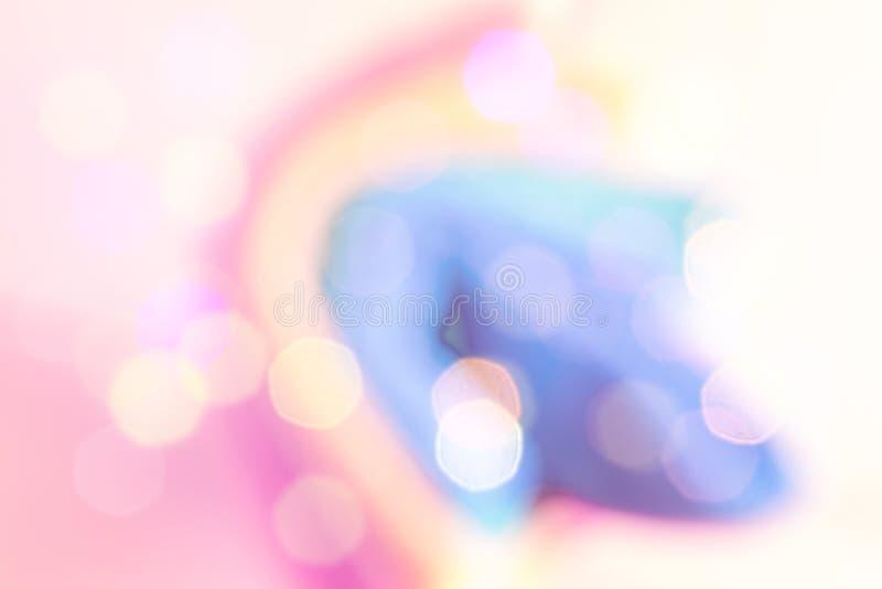 Fond brouill? color? abstrait unicorn photographie stock