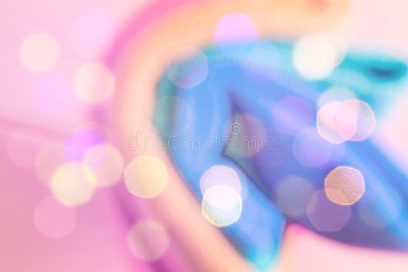 Fond brouill? color? abstrait unicorn photographie stock libre de droits
