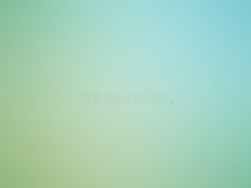Fond brouill? color? vert-bleu de gradient abstrait illustration libre de droits