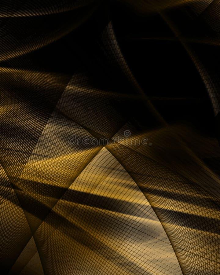 Fond brun abstrait illustration libre de droits