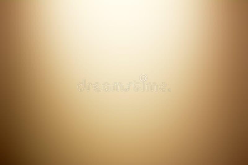 Fond brun clair d'abrégé sur gradient illustration libre de droits