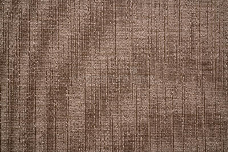 Fond brun texturisé avec les rayures épaisses vetical d'armure photos stock