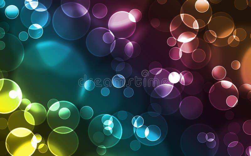 Fond - bulles illustration libre de droits
