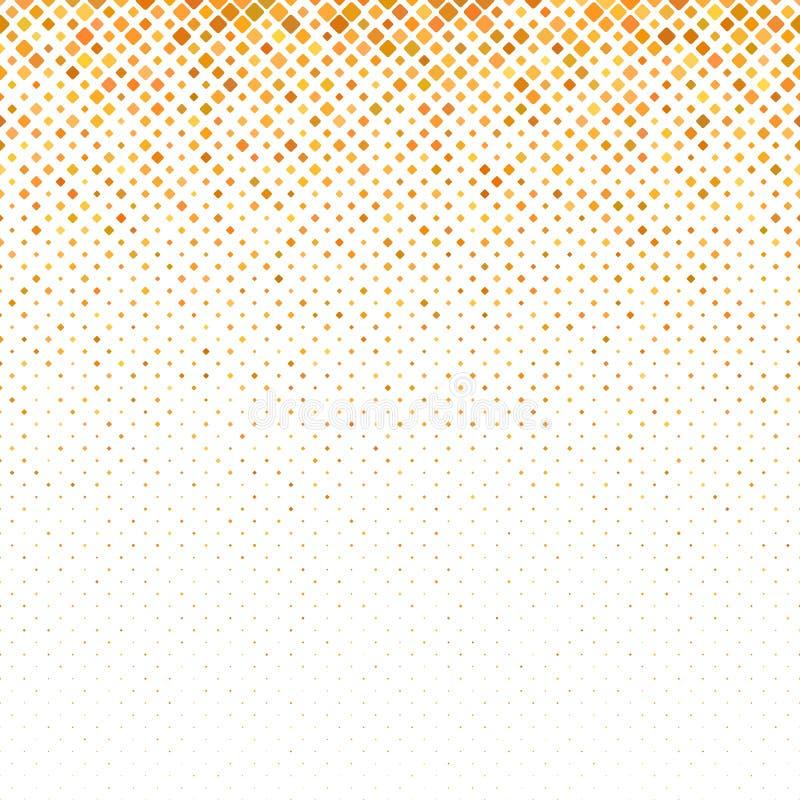 Fond carré diagonal géométrique de modèle des places dans des tailles variables illustration stock
