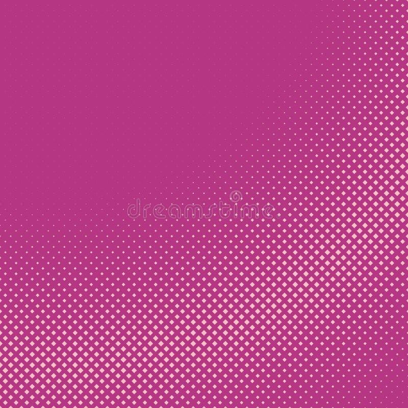 Fond carré tramé géométrique de modèle d'abrégé sur rose des places illustration de vecteur