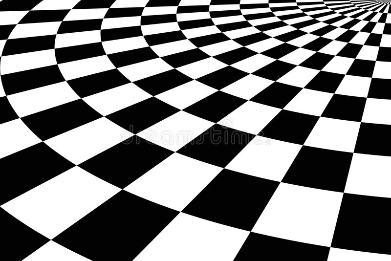 Fond carrelé noir et blanc illustration stock