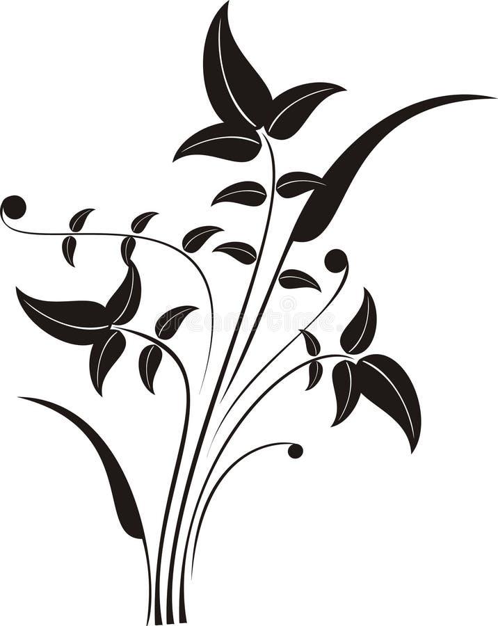 Fond chaotique de nature illustration stock