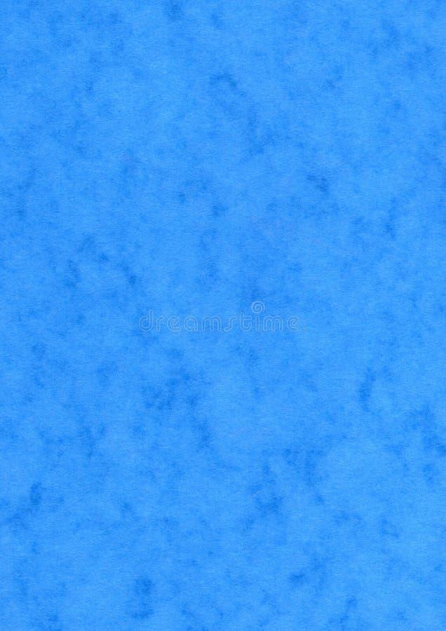 Fond chiné bleu de papier blanc d'effet photo stock