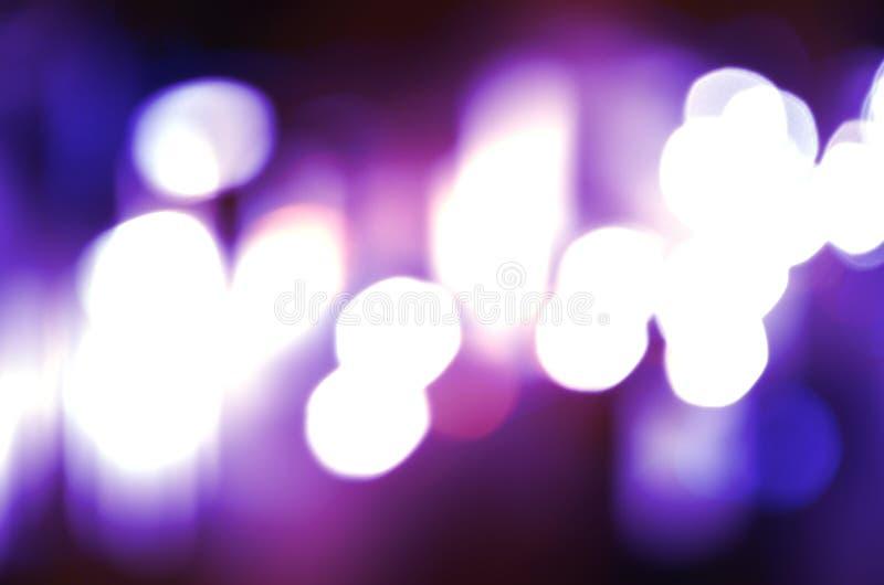 Fond circulaire abstrait Christmaslight de bokeh photographie stock libre de droits