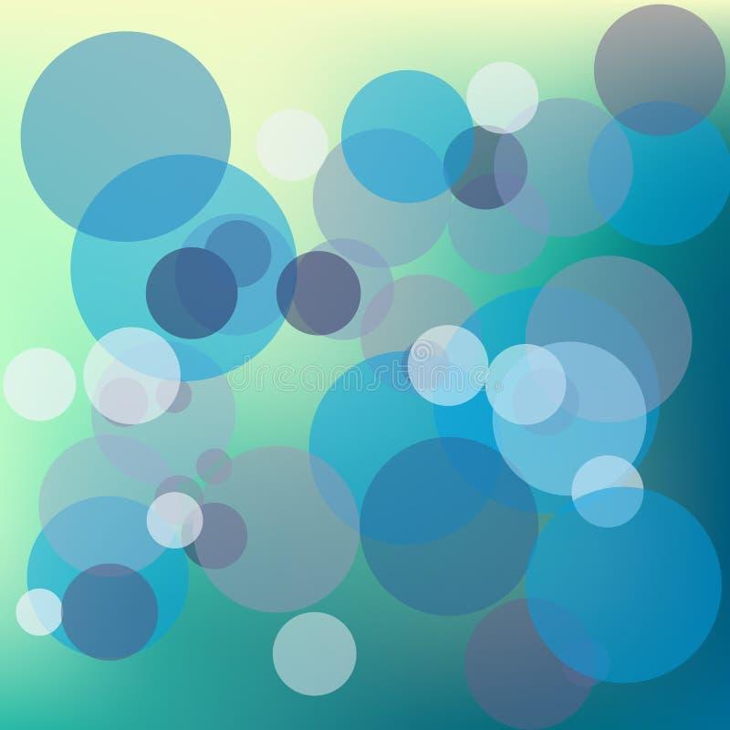 Fond clair abstrait de Bokeh, illustration de vecteur illustration de vecteur