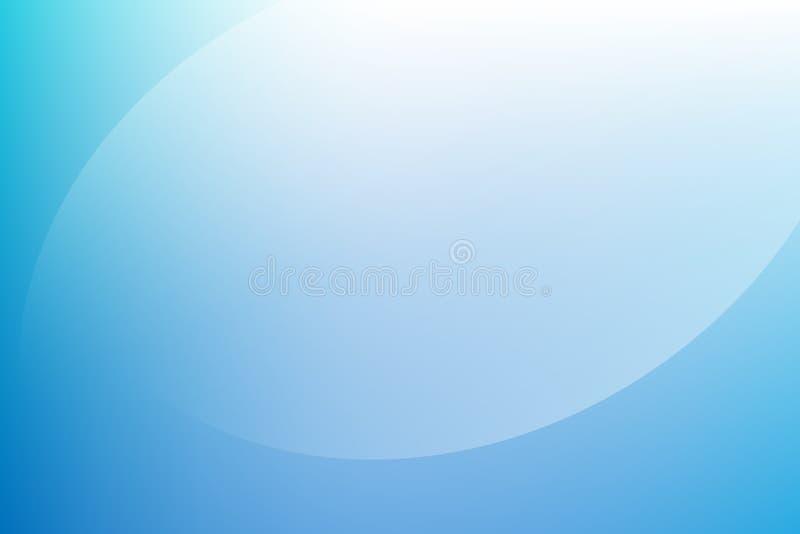 Fond clair bleu de gradient illustration libre de droits