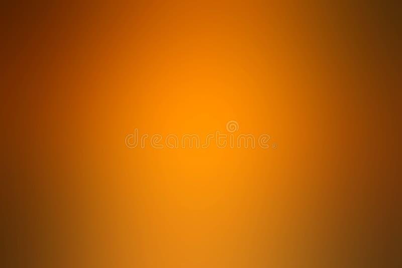Fond clair de gradient d'or, papier peint radial d'effet de gradient d'or photos libres de droits