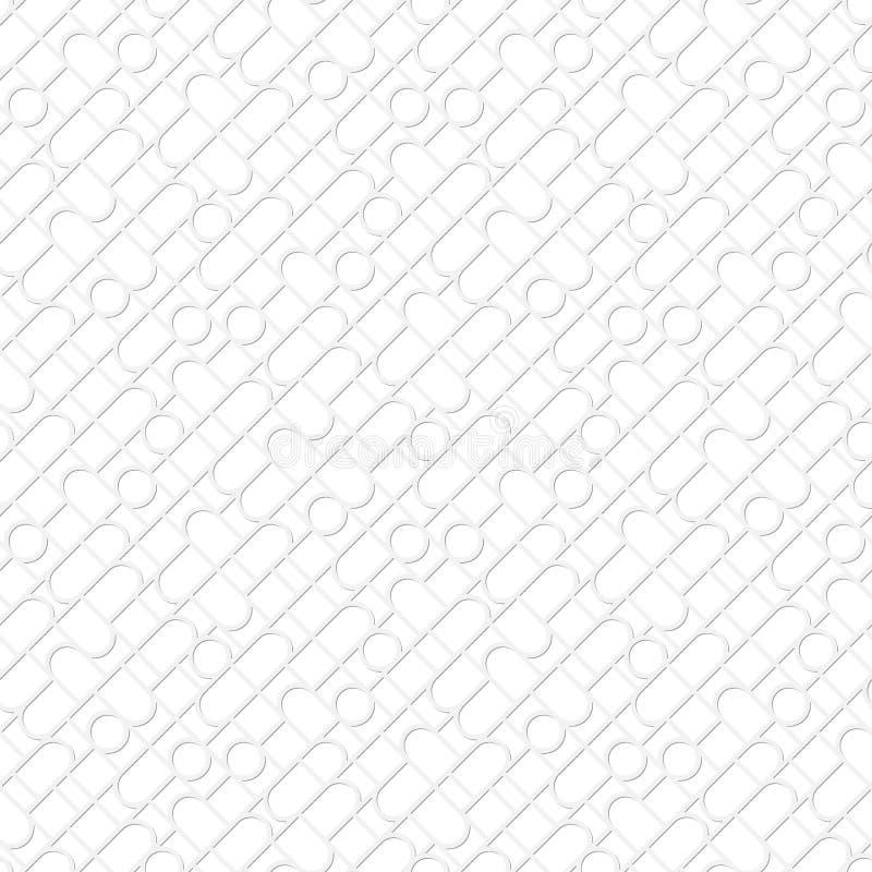 Fond clair sans couleur en verre souillé de vecteur illustration libre de droits