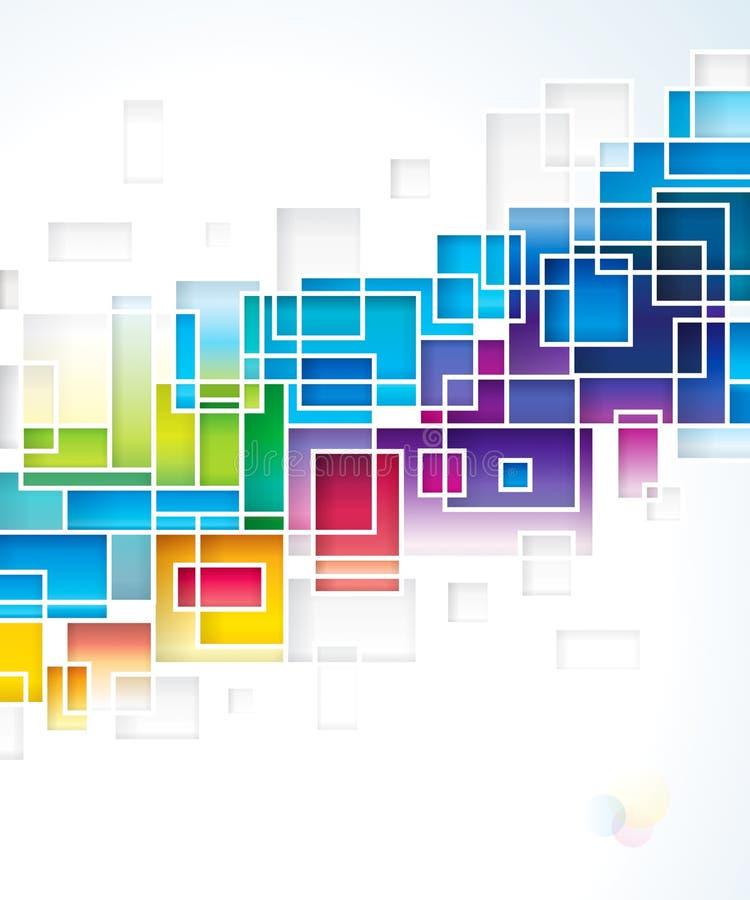 Fond coloré abstrait. illustration de vecteur