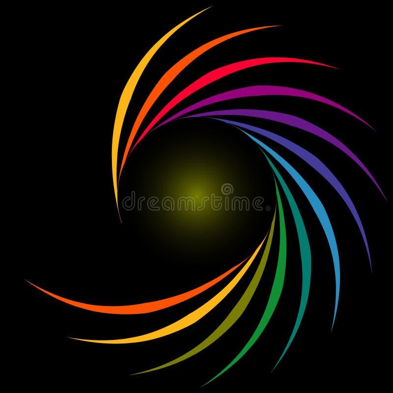 Fond coloré abstrait illustration libre de droits