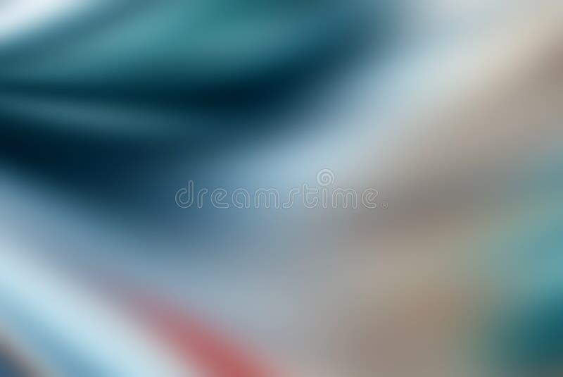 Fond coloré abstrait avec l'effet de tache floue image stock