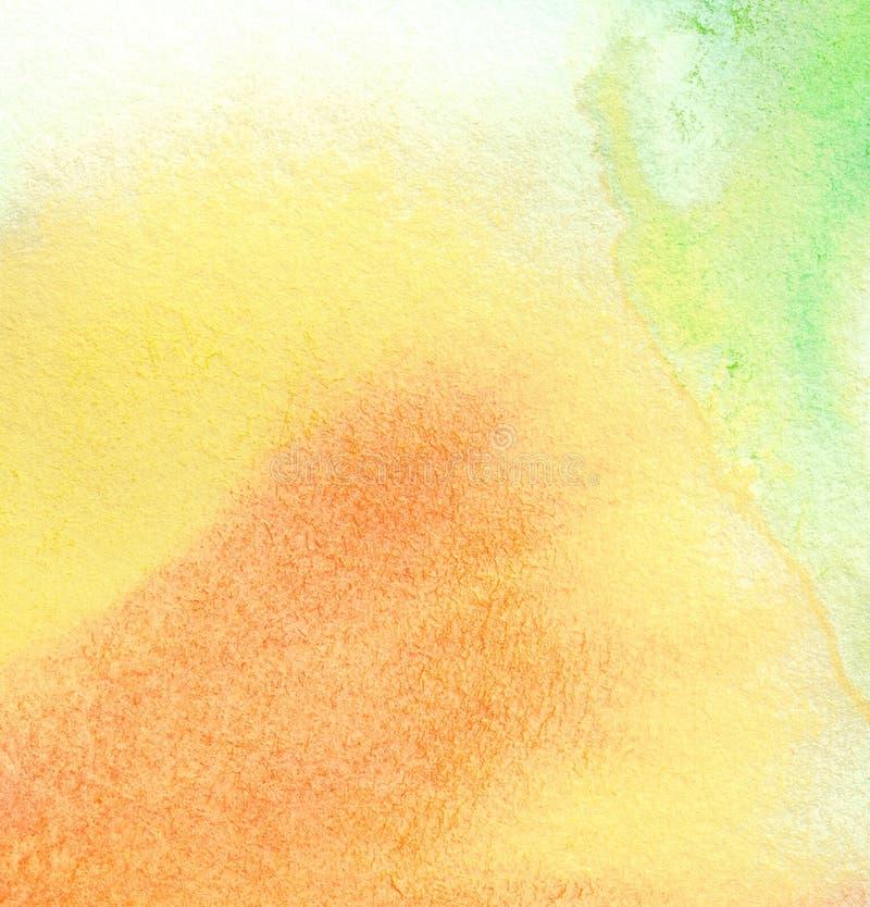 Fond coloré abstrait d'aquarelle images stock