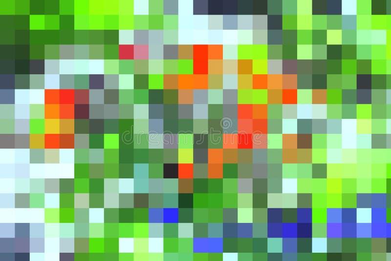 Download Fond Coloré Abstrait De Petites Places Illustration Stock - Illustration du mosaïque, moderne: 56483124