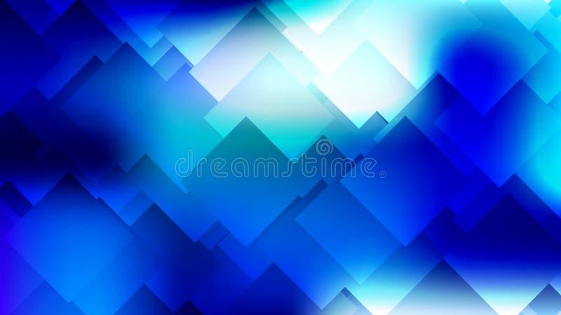 Fond coloré abstrait moderne de gradient avec des losanges, places illustration de vecteur