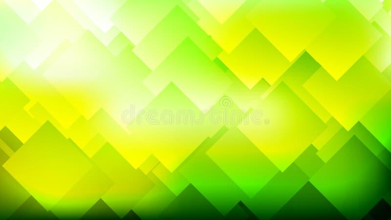 Fond coloré abstrait moderne de gradient avec des losanges, places illustration stock