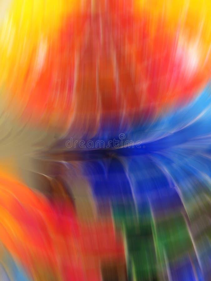 Fond coloré avec l'effet de tache floue de mouvement photo libre de droits