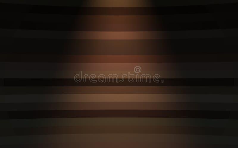 Fond coloré avec la lumière de tache illustration de vecteur