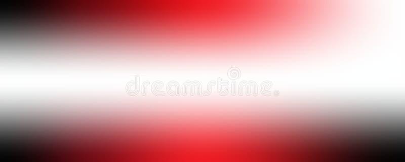 Fond coloré avec la texture brouillée douce dans des couleurs mélangées douces fraîches de bleu de ciel rouge et noir et au paste illustration de vecteur