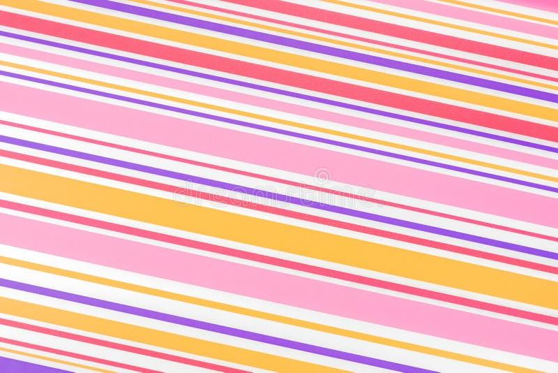 Fond coloré avec les rayures irrégulières image libre de droits