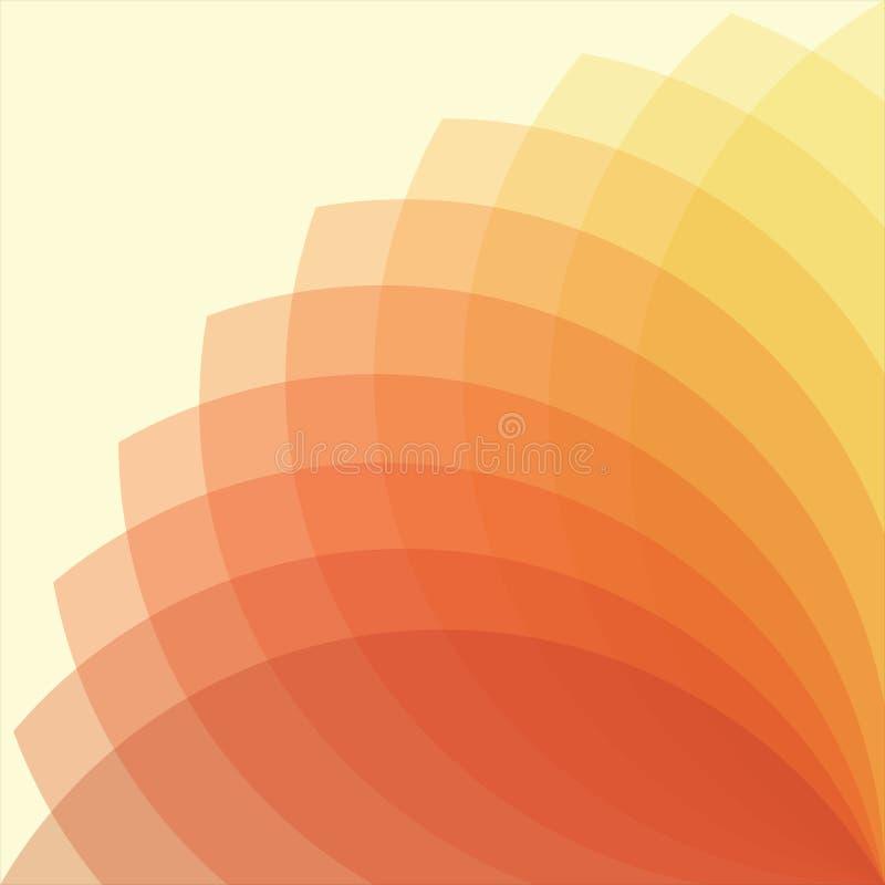 Fond coloré circulaire images libres de droits