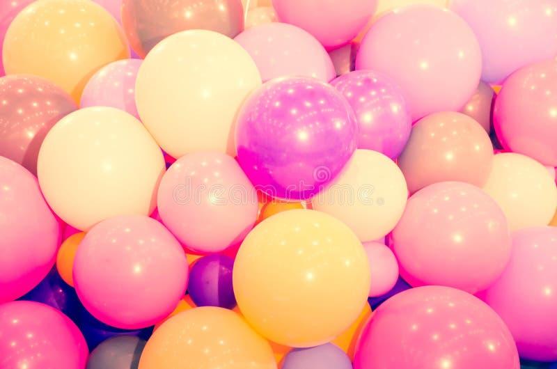 Fond coloré de ballon au pastel image stock