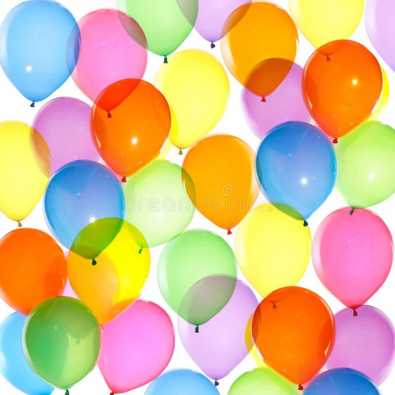 Fond coloré de ballons photo libre de droits