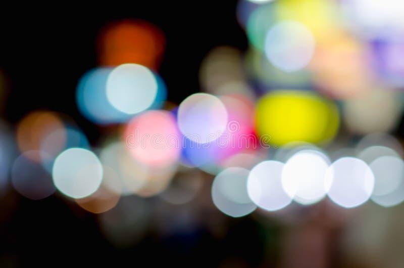 Fond coloré de bokeh photos stock