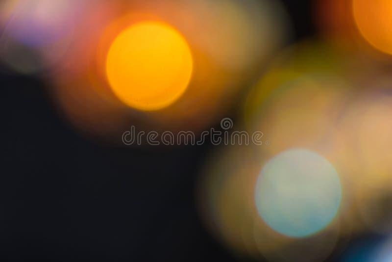 Fond coloré de Bokeh, tache floue, résumé image stock