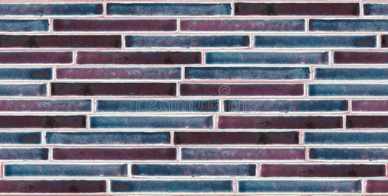 Fond coloré de briques de lustre images libres de droits