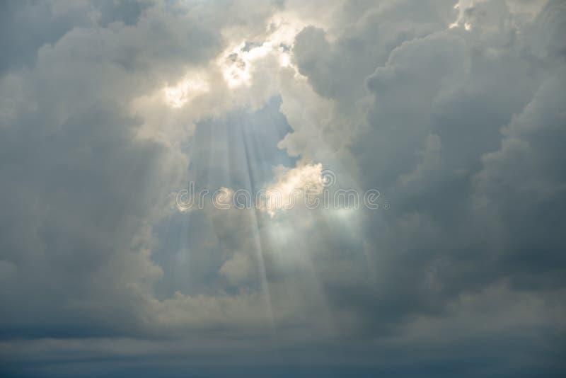Fond coloré de ciel photographie stock libre de droits