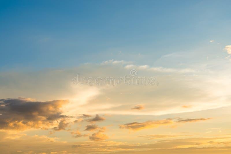 Fond coloré de ciel image libre de droits