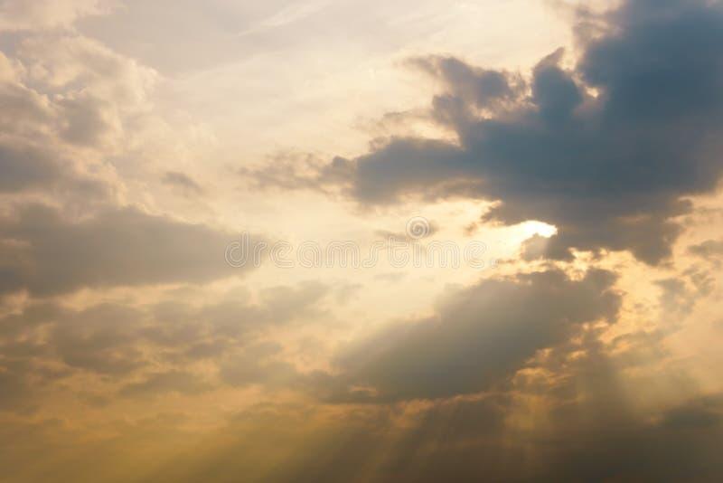 Fond coloré de ciel photo stock