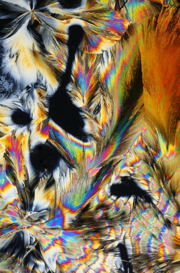 Fond coloré de cristal photo stock