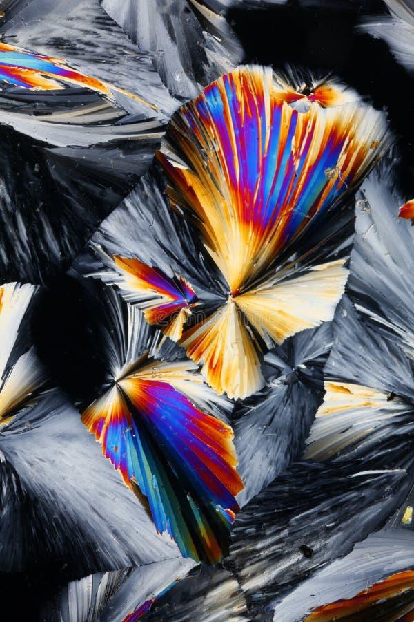 Fond coloré de cristaux photos stock