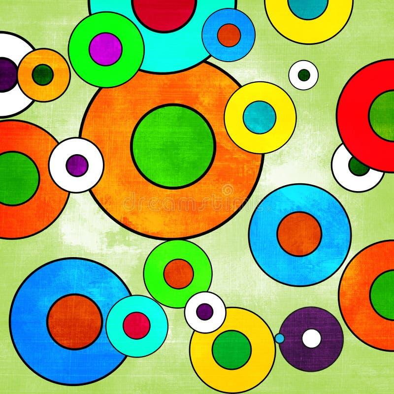Fond coloré de fête illustration libre de droits